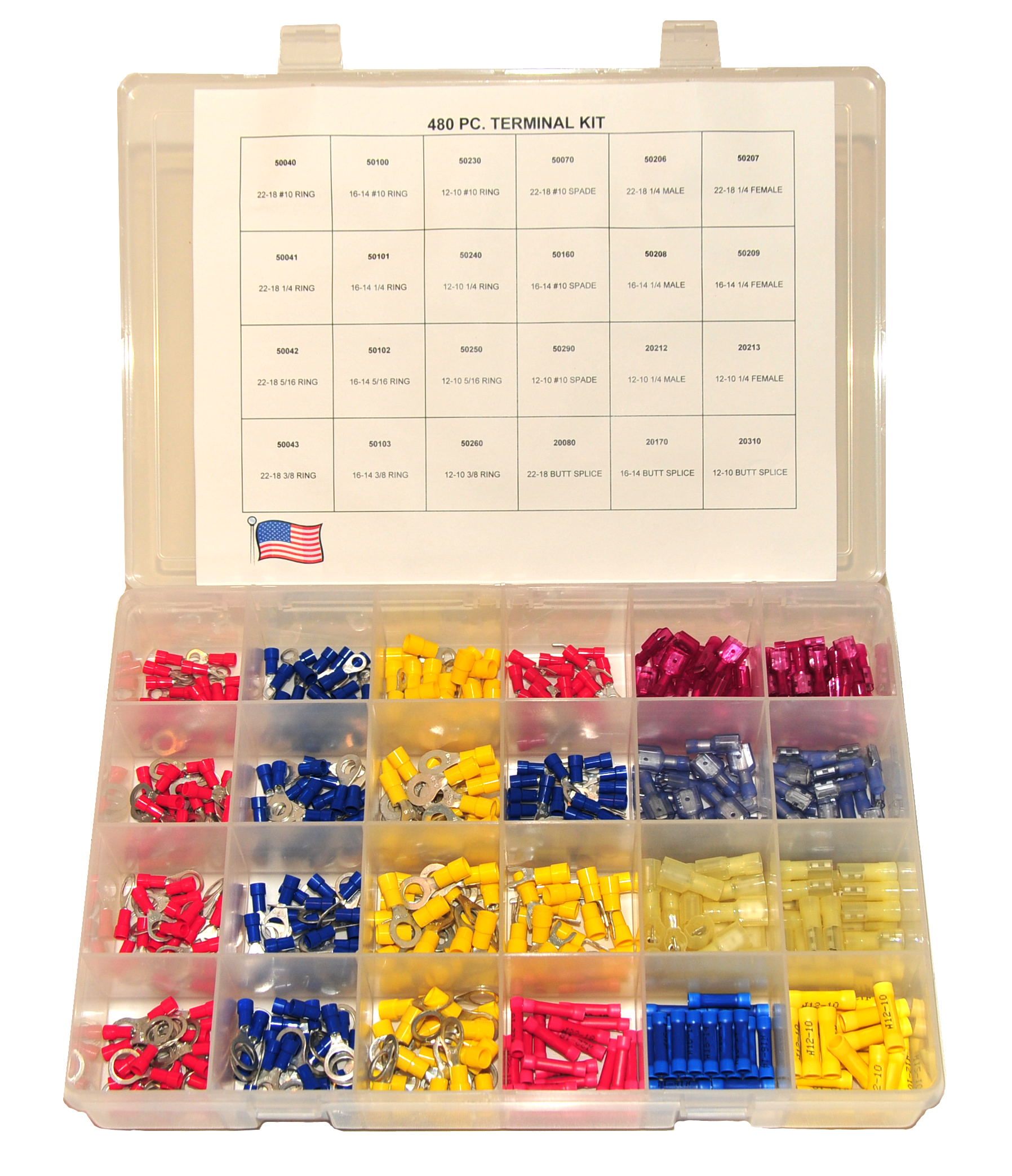 480 pc Vinyl Kit Plastic