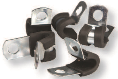Steel Cushion Cable Clamp 1""