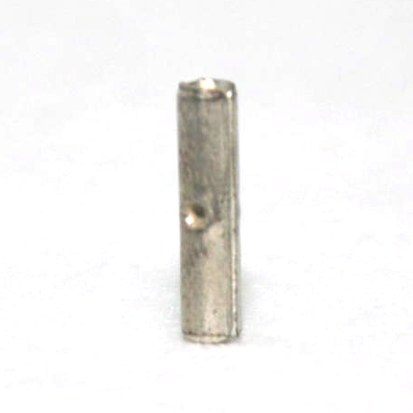 22-18 Non Insulated Copper Butt Connector -Nickel Plated