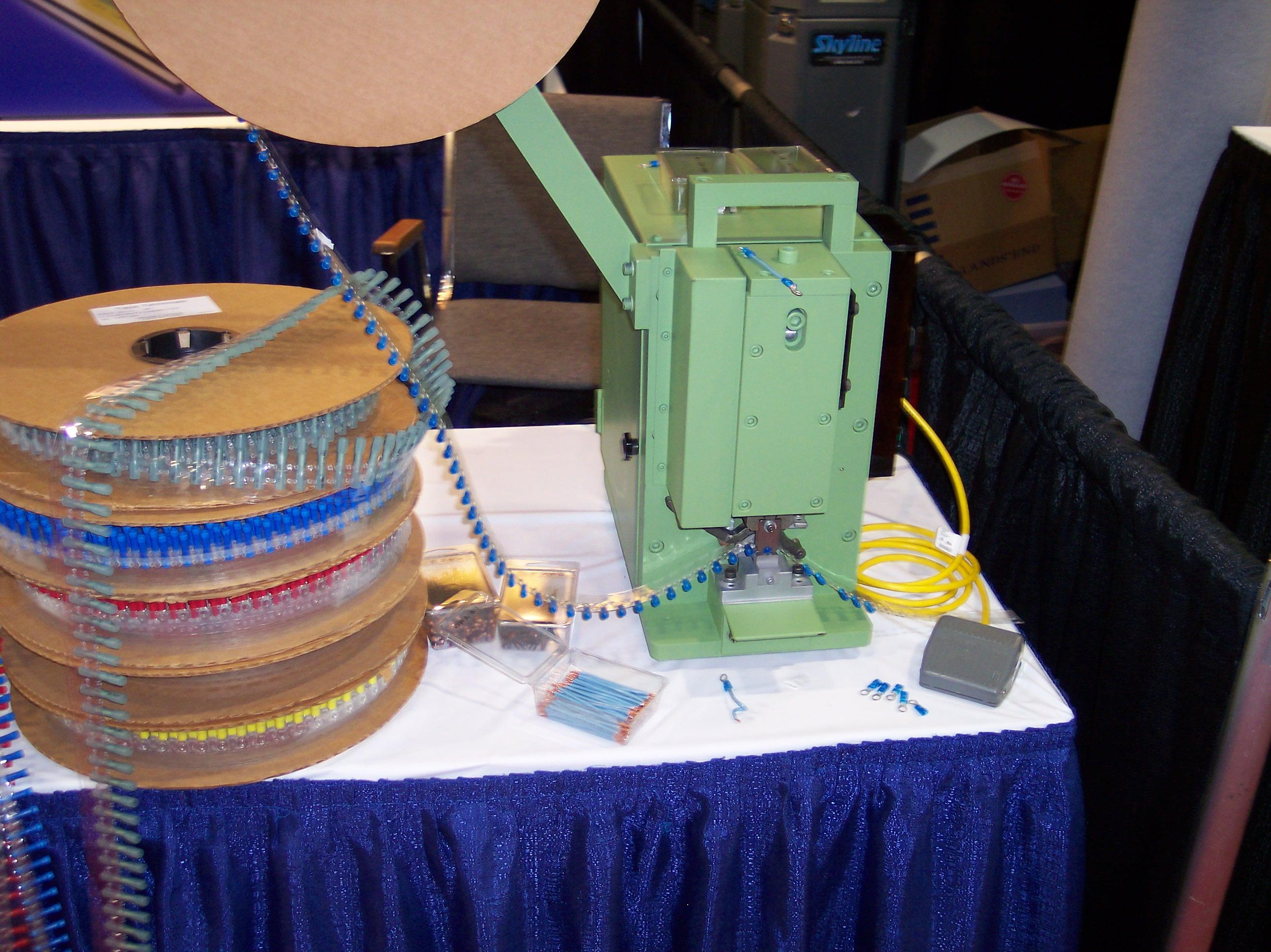 Mylar Tape Crimp Machine