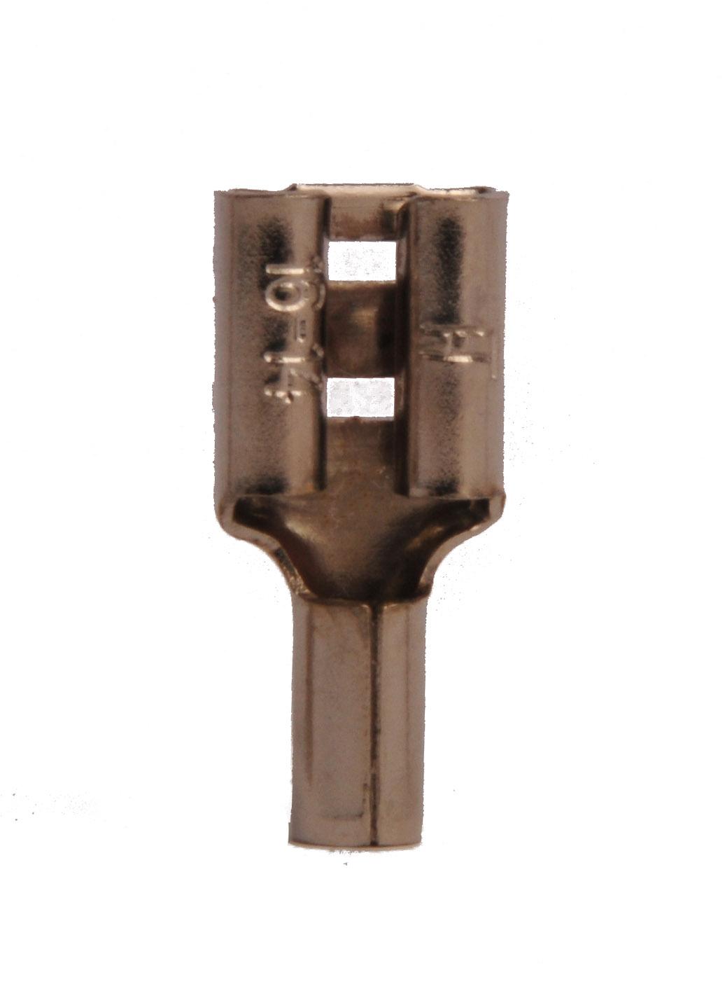 16-14 Non Insulated .250 FQC - Steel