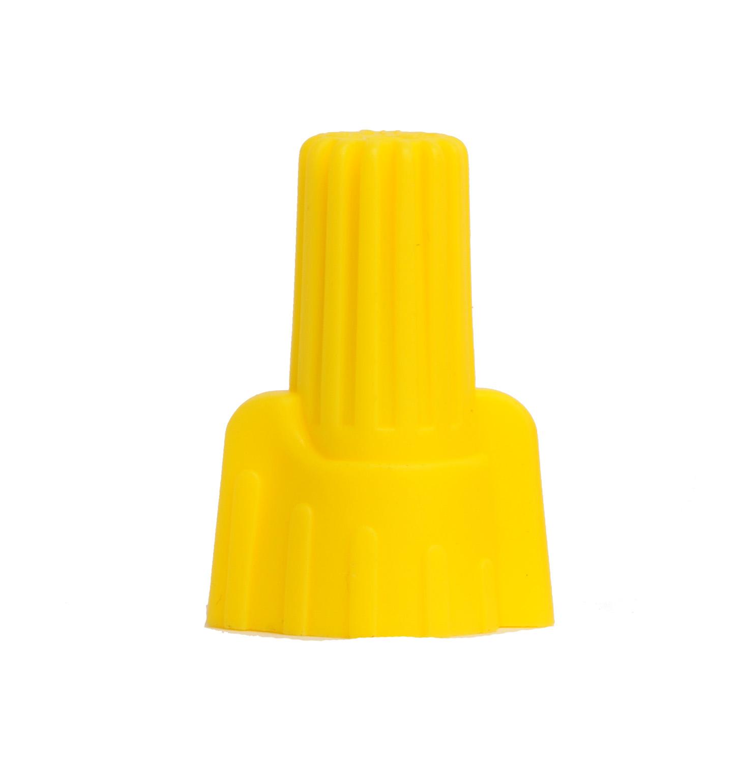 18-10 Yellow Finger Grip Screw On