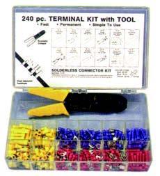 240 pc Nylon Kit  W/Tool