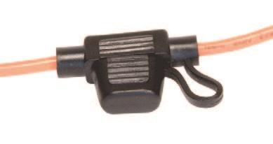 Fuse Holder - 12 ga Mini