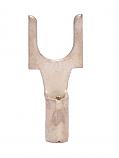 22-18 Non Insulated #10 Block Spade - BZ