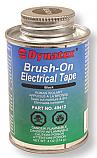 Black Brush On Electrical Tape