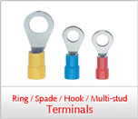 Ring/Spade/Hook/Multi-Stud Terminals